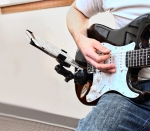 Apple iPad Guitar Mount