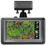 Glare shield mount for Garmin Aera