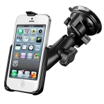 Heavy Duty Suction Cup Mount for Apple iPhone 5