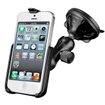 Light Duty Suction Mount for Apple iPhone 5