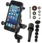 Motorcycle Fork Stem Mount for Apple iPhone 5, 5c, 5s
