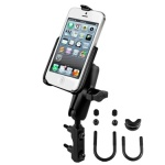 RAM-B-174-AP11U RAM Motorcycle Clutch Mount for the Apple iPhone 5s